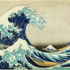 Great Wave off Kanagawa, Japanese vintage fine art. by naturematters