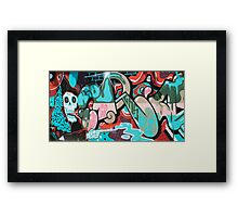 Looks whos hiding Framed Print