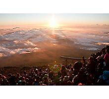 Peak of Mt. Fuji-san Photographic Print
