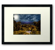 Blanket of Stars Framed Print