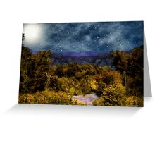 Blanket of Stars Greeting Card