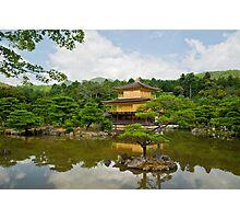 Kyoto - Golden Pavilon Photographic Print