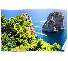 Italy, Capri Poster