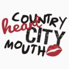 ϟ Country ♡ • City Mouth 2.0 ☁ by bleerios