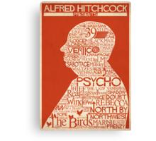 Alfred Hitchcock Presents... Canvas Print