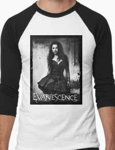 Amy Lee From Evanescence Men's Baseball ¾ T-Shirt