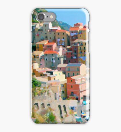 Italy. Cinque Terre - Cliffside iPhone Case/Skin