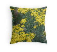 """Washington Wildflowers"" Throw Pillow"