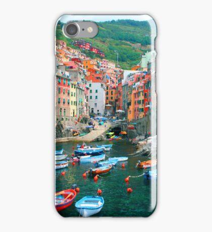 Italy. Cinque Terre marina  iPhone Case/Skin