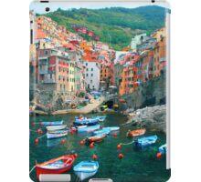 Italy. Cinque Terre marina  iPad Case/Skin