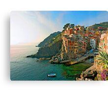 Italy. Cinque Terre - canals Canvas Print