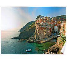 Italy. Cinque Terre - canals Poster