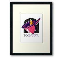 Toca Bowl Framed Print