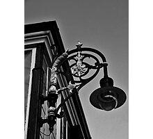 Corner lamp Photographic Print