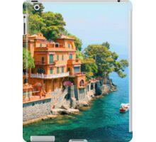 Italy. Portofino iPad Case/Skin