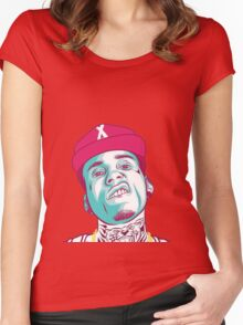 KID INK Head! Women's Fitted Scoop T-Shirt