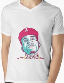 KID INK Head! Mens V-Neck T-Shirt