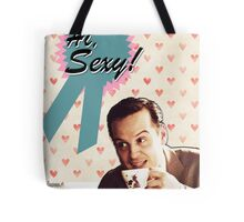 Moriarty Valentine's Day Card Tote Bag