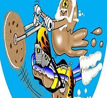 MOTORCYCLE CARTOON by InspireCartoons