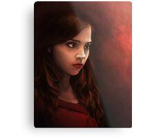 Clara Oswin Oswald - Doctor Who Metal Print