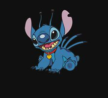 Stitch is so cute Womens Fitted T-Shirt