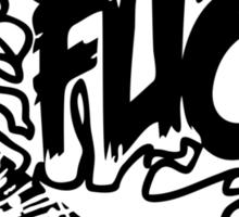 Tape Fuck! :-/ Sticker