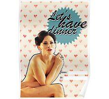 Irene Adler Valentine's Day Card Poster