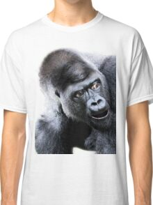 Say What Surprised Gorilla Classic T-Shirt