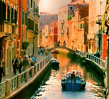 Italy. Venice Silent path by JessicaRoss