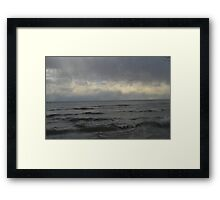 Choppy Waters Framed Print