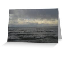 Choppy Waters Greeting Card