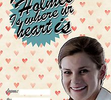 Molly Hooper Valentine's Day Card by thescudders