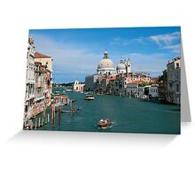 Italy. Venice in the distance Greeting Card