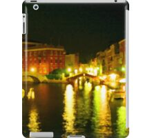 Italy. Venice Night lights iPad Case/Skin