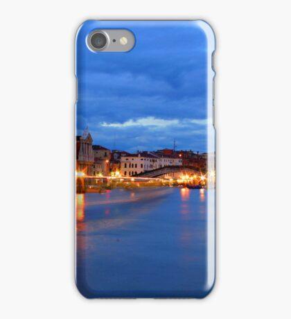 Italy. Venice at dusk iPhone Case/Skin