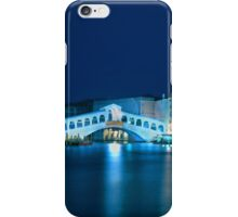 Italy. Venice in blue iPhone Case/Skin