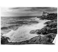 Italian coast Poster