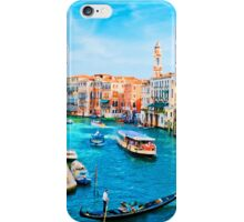 Italy. Venice lazy day iPhone Case/Skin