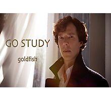 Go Study-Sherlock Holmes v3 Photographic Print