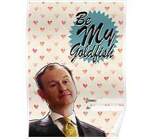 Mycroft Valentine's Day Card  Poster