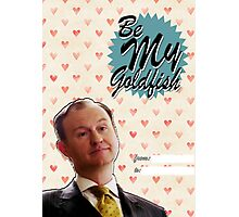 Mycroft Valentine's Day Card  Photographic Print