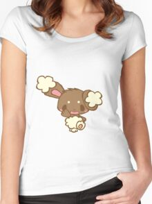 Cute Buneary Women's Fitted Scoop T-Shirt