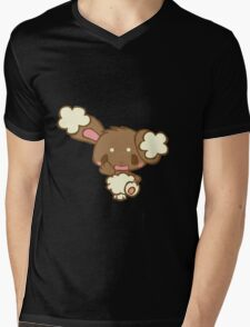 Cute Buneary Mens V-Neck T-Shirt