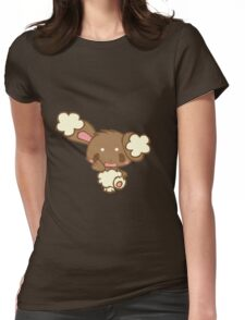 Cute Buneary Womens Fitted T-Shirt