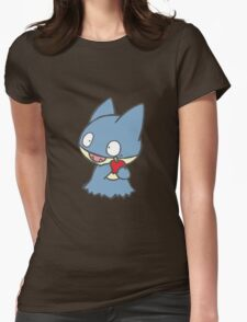 Cute Munchlax Womens Fitted T-Shirt