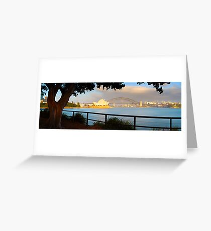 One Morning in Sydney, New South Wales, Australia Greeting Card