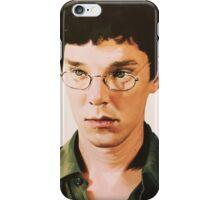 Benedict Cumberbatch digital portait iPhone Case/Skin