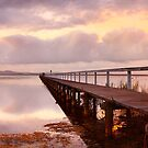 Long Jetty Sunset, New South Wales, Australia by Michael Boniwell