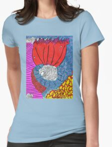 Colin Gabriel Morning Dew Womens Fitted T-Shirt
