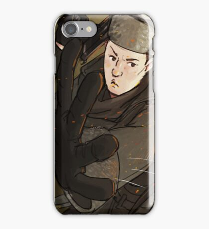 Mycroft is a badass iPhone Case/Skin